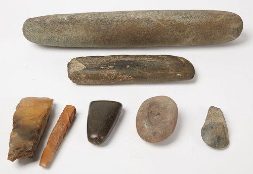 Native American Stone Lot