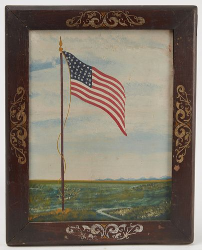 Flag Painting - Nebraska