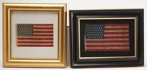 3 Flags including 46 Star Oklahoma Parade Flags