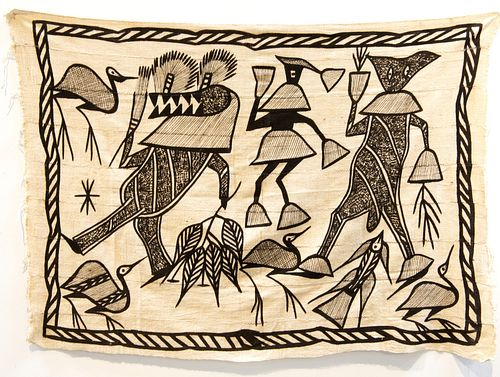 African Painting on Cloth
