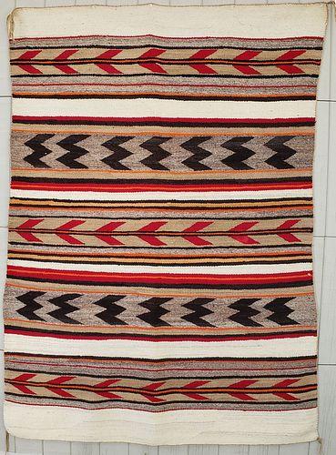 Navajo Wide Ruins Banded Rug