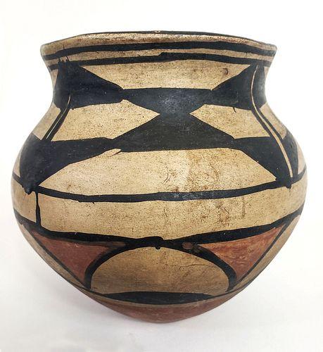 Santo Domingo Pueblo Pottery Jar