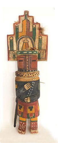 "Monumental Hopi Kachina Doll - 24-3/4"""