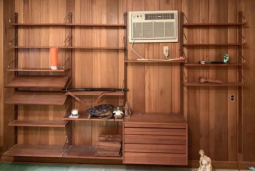 Danish Modern Wall Unit by Poul Cadovius