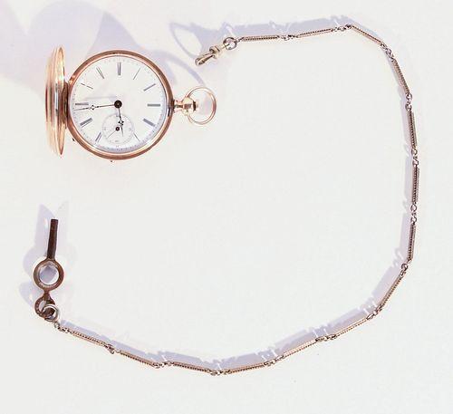 AMI Richard Gold Pocket Watch