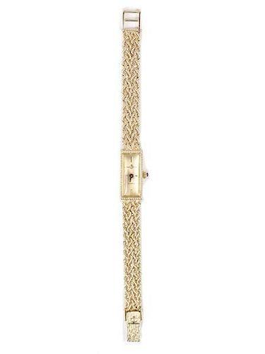 973c8929408 Ladies 14k Gold Baume   Mercier Wristwatch. Lot 941. Prev Lot · Next Lot ·  item Image