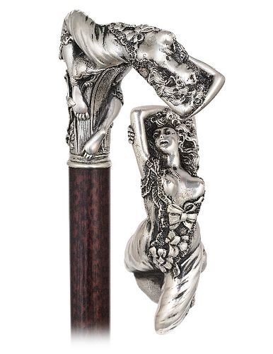 Silver Venus Cane