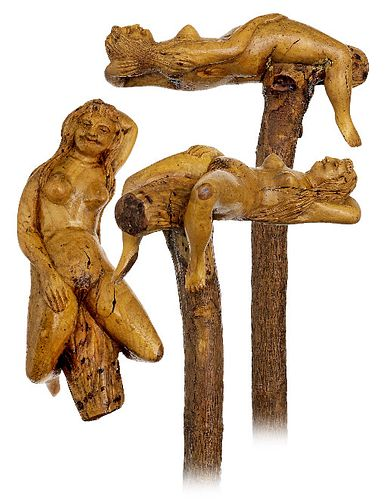 Folk Art Erotic Cane
