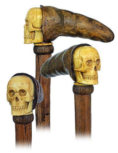Ritual Klan Skull Cane