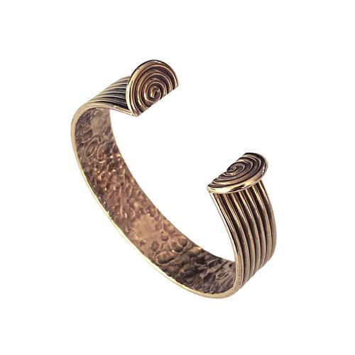 Strap Bronze Cuff