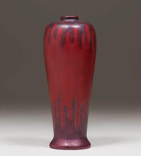 Swastika Keramos - Owens China Company Vase c1906-08