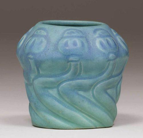 Van Briggle Poppy Vase c1920s