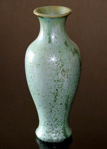 Fulper Pottery Leopardskin Glaze Vase c1910s