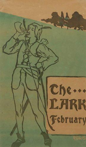 Florence Lundborg The Lark Poster Robin Hood, February