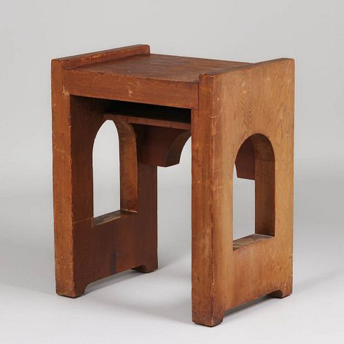 Theodore Church Redwood Small Cutout Table Berkeley