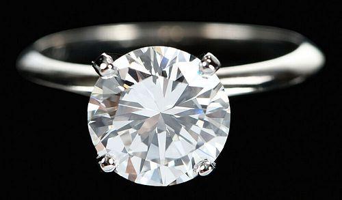 14kt. 2.82ct. Diamond Engagement Ring