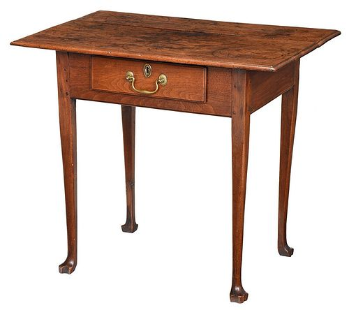 Rare North Carolina Federal Walnut Tea Table