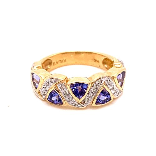 ÊKALATI Diamond Tanzanite RingÊ