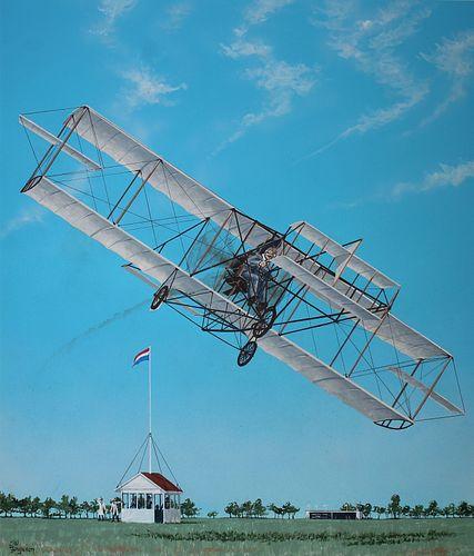 Steve Ferguson (B. 1946) Curtiss Golden Flyer
