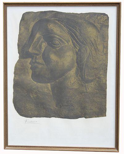 Pablo Picasso (1881 - 1973) Pencil Signed