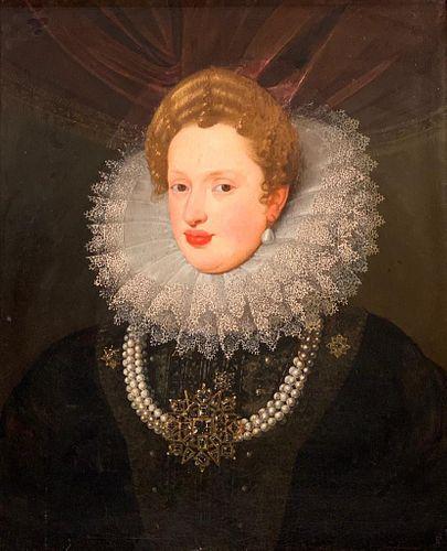 17thc. English, Netherlandish or Spanish School Portrait