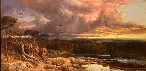 James Webb Oil, Thunder Clouds, 1858