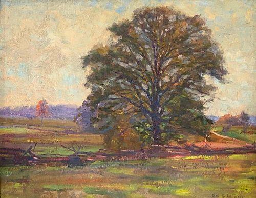 George Gustav Adomeit Oil, Tree
