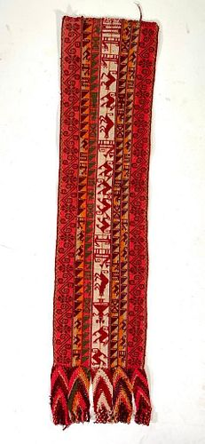 Peruvian Wool Weaving