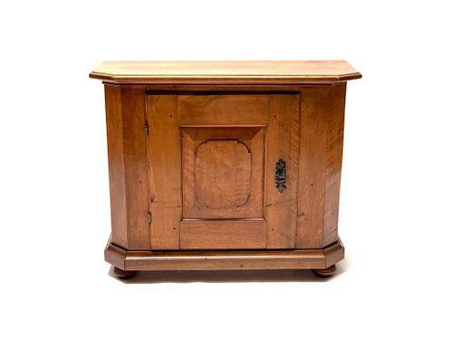 Biedermeier Fruitwood Side Cabinet, c. 1800