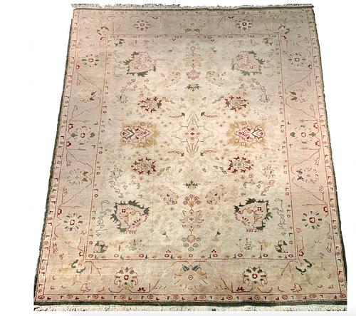 Large Oushak Style Carpet