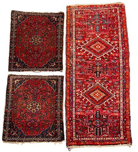 Three Accent Carpets