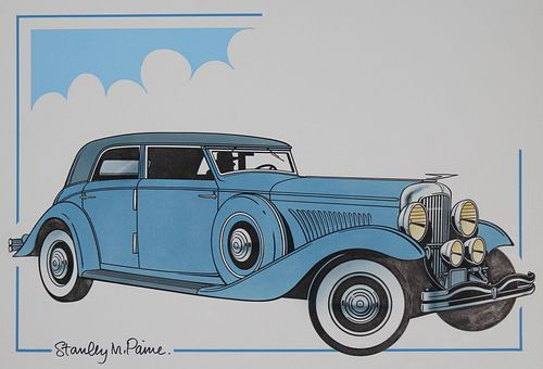 "Stanley Paine (B. 1934) ""1935 Duesenberg"""