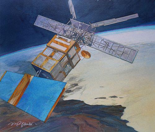 "Mark Schuler (B. 1951) ""European Remote Satellite"""