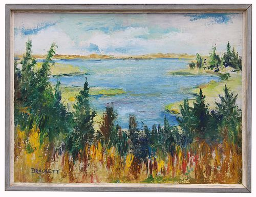 """Sandy Neck, Barrnstable"" Cape Cod Painting"