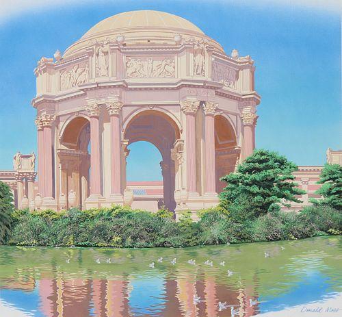 """Donald Moss (1920 - 2010) """"Palace of Fine Arts"""""""