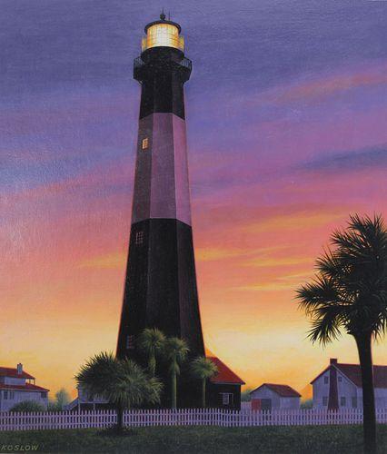 Howard Koslow (1924-2016) Tybee Island Lighthouse