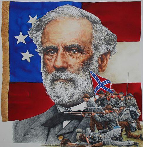 "Chris Calle (B. 1961) ""Robert E. Lee"""