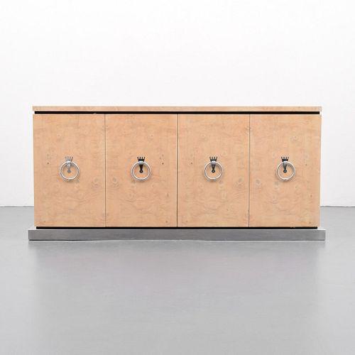 Custom Tommi Parzinger Cabinet