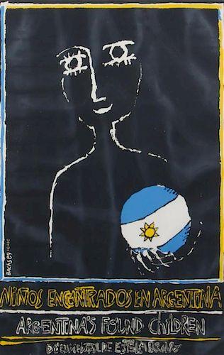 Eduardo Munoz Bachs, (Cuban, 1937-2001), Argentina's Found Children, 1996