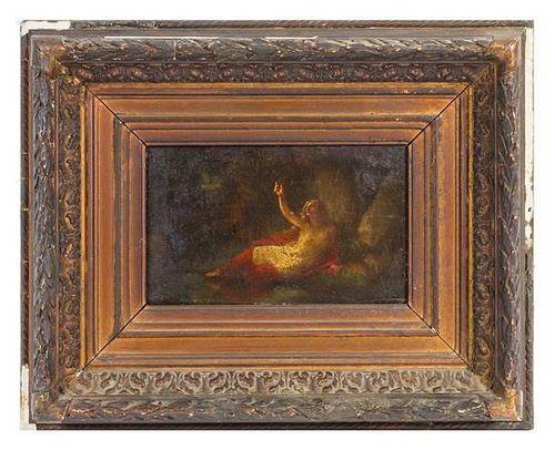 Artist Unknown, (19th century), Femme dans un paysage