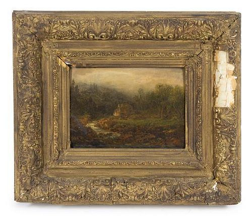 Artist Unknown, (19th century), Landscape with River