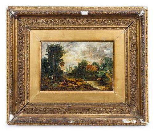 Artist Unknown, (British, 18th century), The Glebe Farm