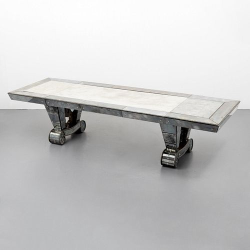 Rare & Large Serge Roche Dining Table