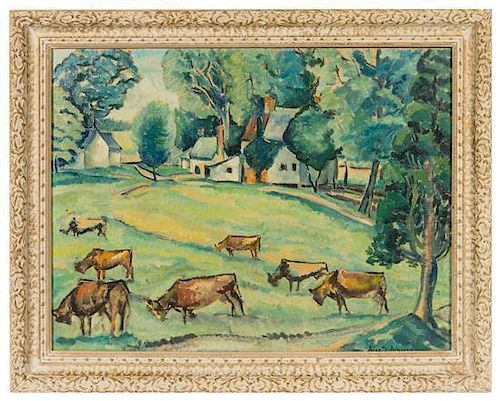 * Alice S. Acheson, (American, 1895 - 1996), Auburn Farm