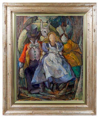 * Iver Rose, (American, 1899-1972), Alice in Wonderland Characters
