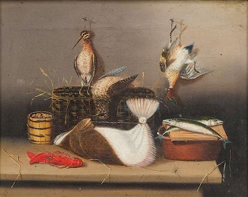 * Artist Unknown, (American, 19th century), Still Life with Game