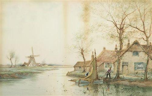 George F. Schultz, (American, 1869-1934), Lowland Village