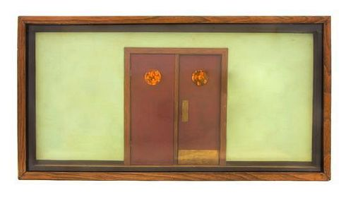 * Bruce Monteith, (American, 20th century), Kitchen Doors Construction