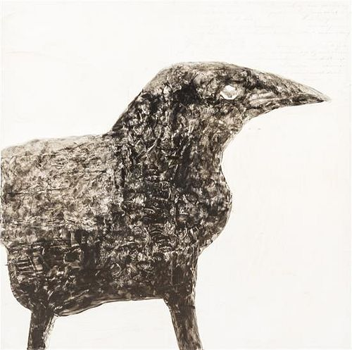* Frank Ursey, (American, 20th century), Raven