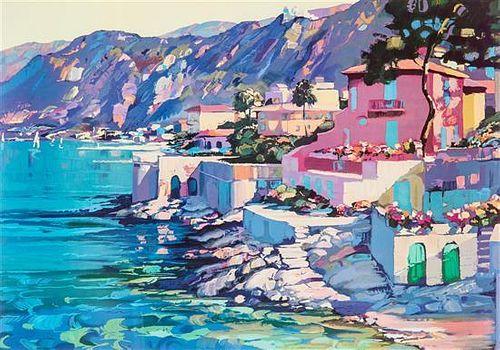 Artist Unknown, (20th century), Seaside Village